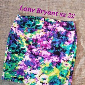 Lane Bryant Straight/Pencil Skirt sz 22
